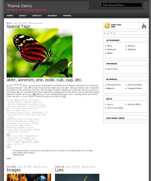 Rebel Magazine Premium WordPress Theme