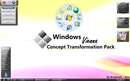windows xp to windows 7 transformation