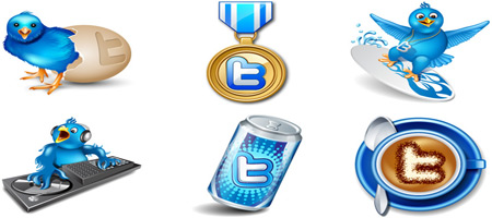 download free twitter icon set
