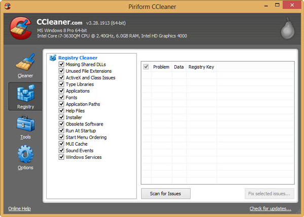 Ccleaner free windows cleaner
