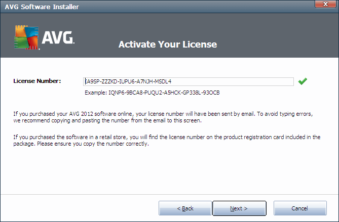 AVG Internet Security 2012 Serial Key License