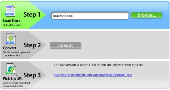 convert a docx to pdf without word