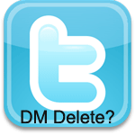 Twitter DM [Direct Message] Bulk Deleter
