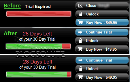 Reset Trial Software Extend Evaluation period to run forever Unlimited