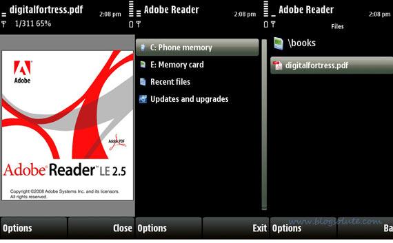 Apps app j2me pdf reader java free