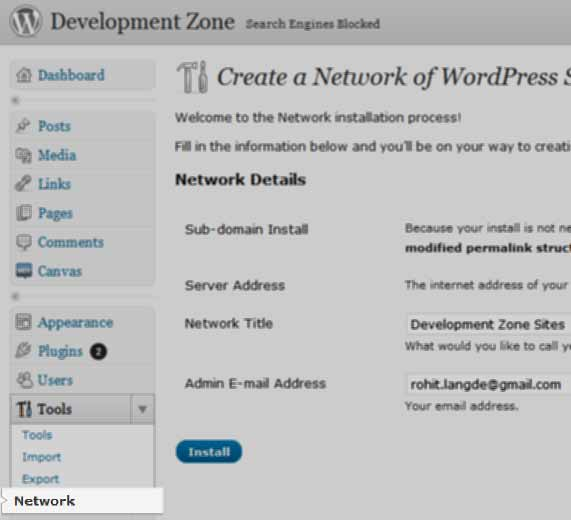 Wordpress 3 Multiple=