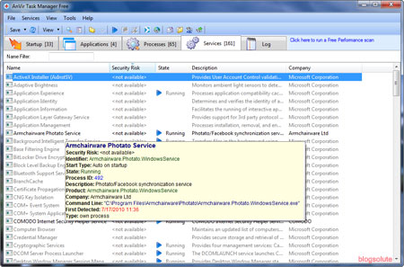 free Monitor windows process