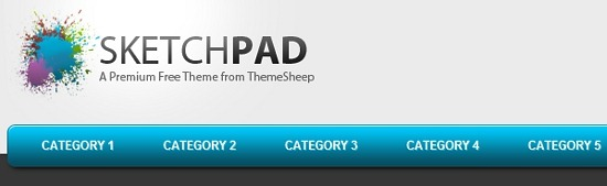 SketchPad- An Awe-inspiring Free Premium WordPress Theme Download