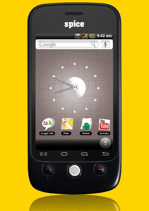 Spice Mi-300 Android Smartphone