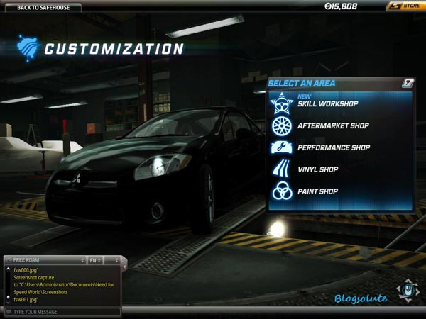 need for speed world safehouse