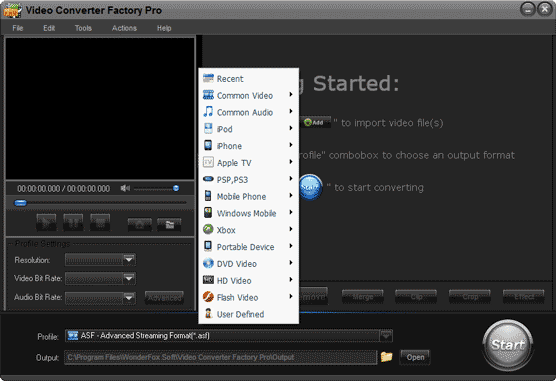 Download Video Converter Factory PRO 2 0 with Registration Code