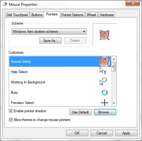 Create Mouse Cursor
