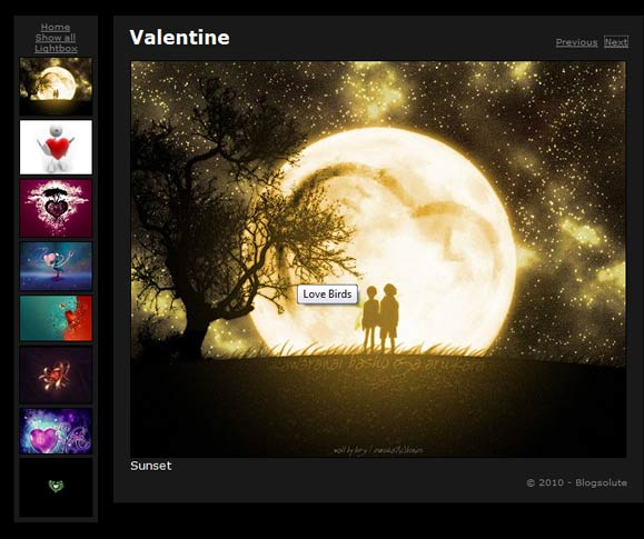 Software to Create Web Photo Album gallery