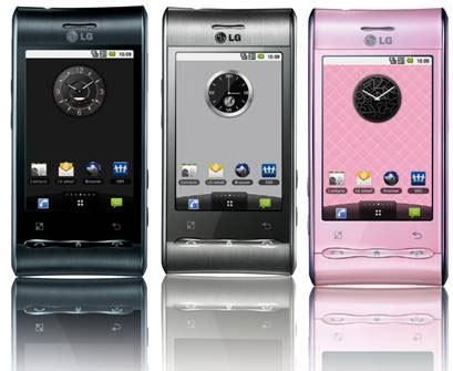 How to upgrade LG Optimus
