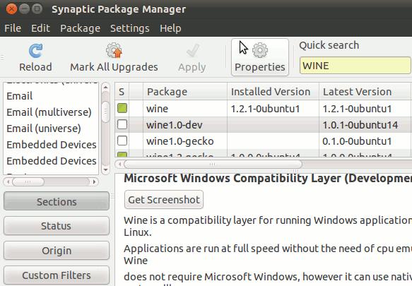 install utorrent on Ubuntu 10 Maverick