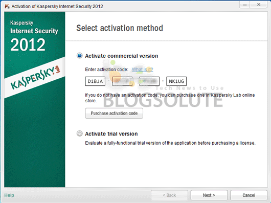 kaspersky internet security 2012 activation-key