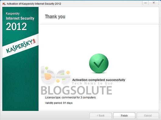 kaspersky 2012 license key  365 days activation code