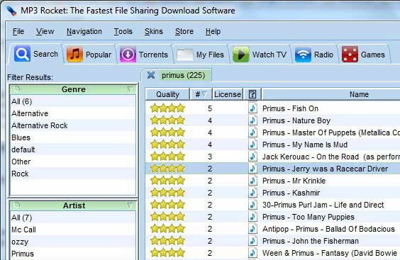 Limewire Alternative