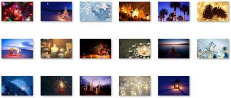 Windows-7-Christmas-Theme-Holiday-Lights-Wallpapers