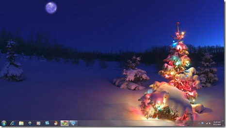 Windows-7-Christmas-Theme-Holiday-Lights