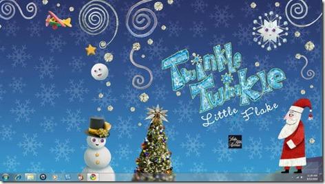 Windows-7-Christmas-Theme-Twinkle-Wish