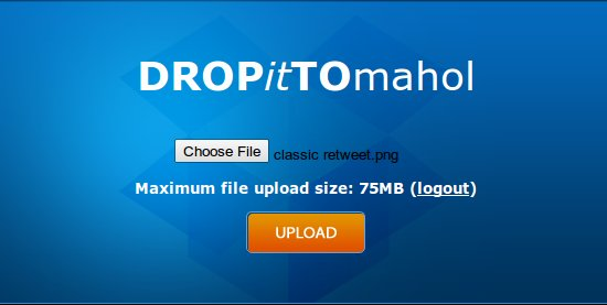 Receive Big Files in Dropbox