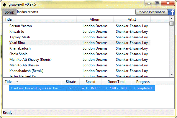 Grooveshark downloader software for Mac Windows Linux