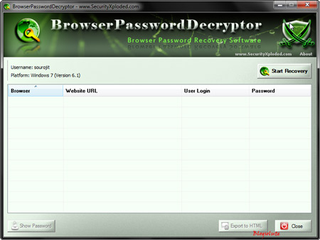 Steal Encrypted Passwords stored in Firefox Opera Chrome IE