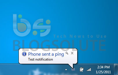 Android Notifier Windows Linux Mac