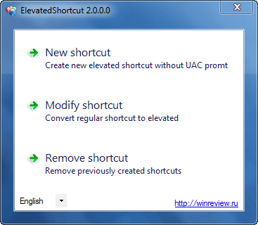 Elevated Shortcuts