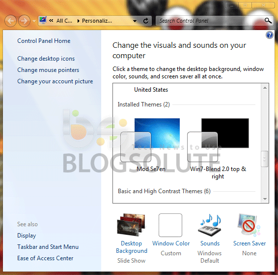 Install 3rd Party Themes on Windows 7