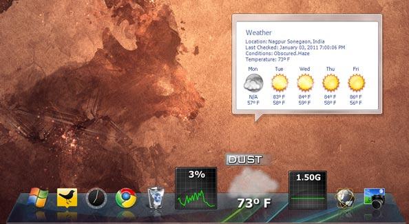 Nexus Dock Windows 7