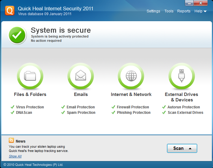 Quick Heal Antivirus Internet Security OEM