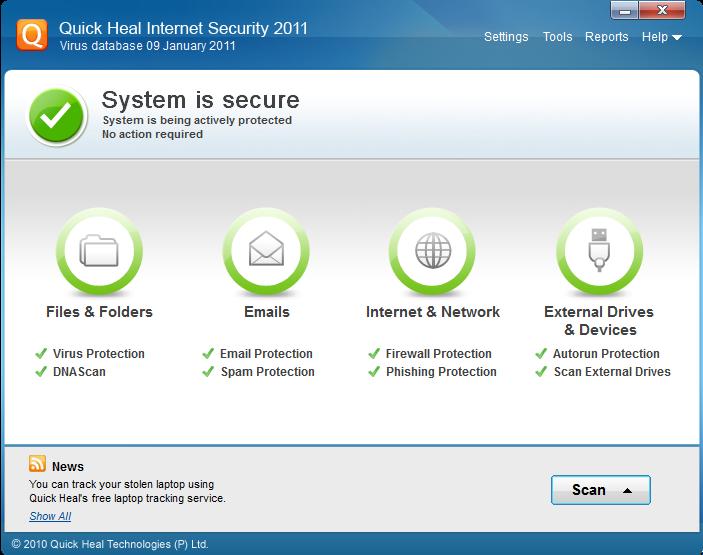 Quick Heal Antivirus Internet Security OEM