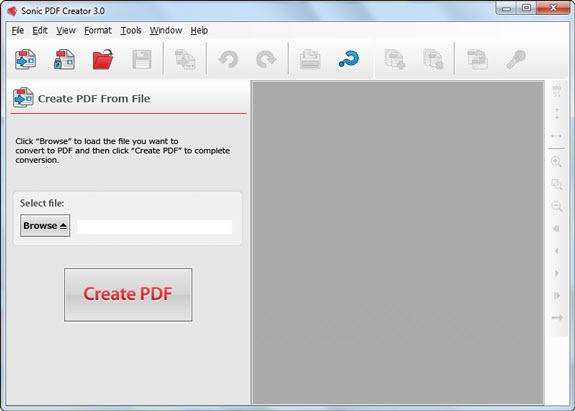 Sonic PDF Creator 3.0 Serial Key