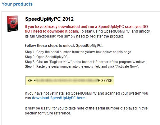 speedupmypc 2011 activation key free