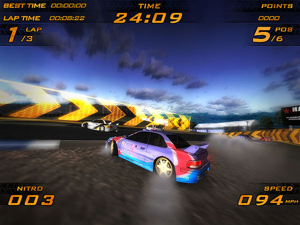 Ultra Racer Nitro 3D Racing Game