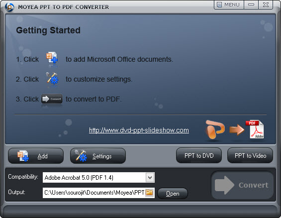 free powerpoint to pdf converter