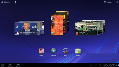 Android 3.0 HoneyComb Detail Review