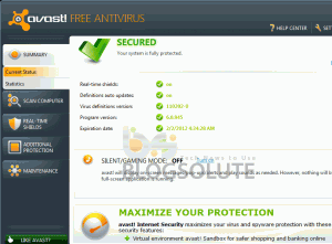 Avast! 6 Antivirus Beta Download Review