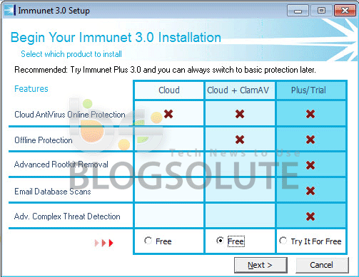 Imunet 3.0 Antivirus Review Free Download