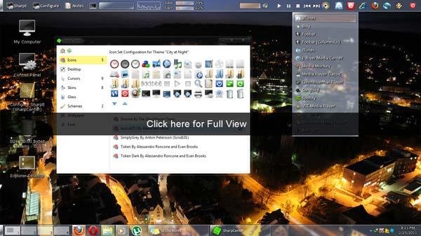 Sharpe Desktop Environment