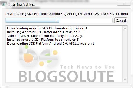 Android 3.0 on Windows