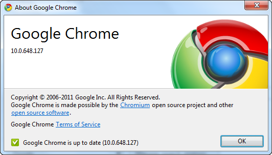 Google Chrome 10 Stable Version Download