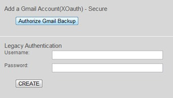 gmail authorise