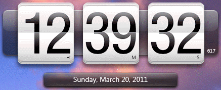 HTC Clock Widget Windows 7