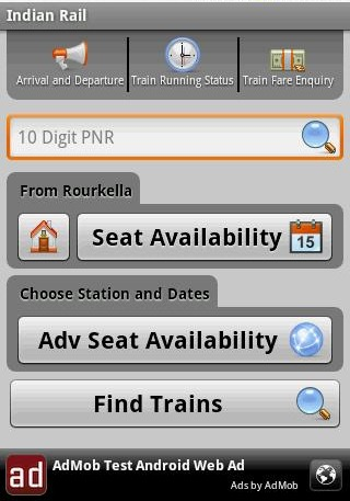 Indian Rail Info: Best Android App for Indian Railways
