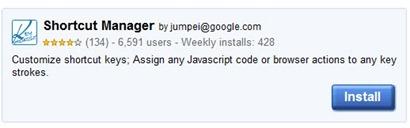 Create and Use Custom Keyboard Shortcut in Google Chrome
