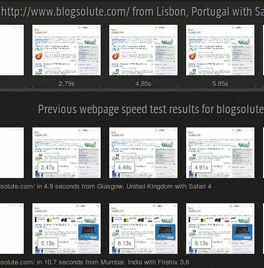 Test Blog Loading Time