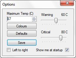 Change Windows Taskbar to Dynamic Temperature Monitoring Tool